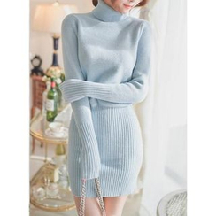 Sienne - Turtleneck Sweater Dress