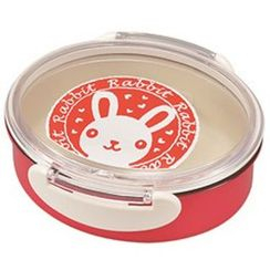 Miyamoto Sangyo - Animal Stamp Oval Tight Lunch Box Rabbit