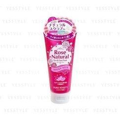 Cosmetex Roland - Rose Natural Scrub Face Foam (Milky Silk)