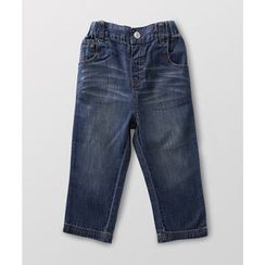 malimarihome - Kids Washed Straight-Leg Jeans