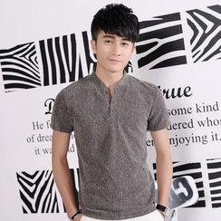 Mija - Melange Polo Shirt