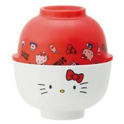 Skater - Hello Kitty Double Bowl Set