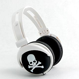 mix-style - mix-style (Skull-Black) Stereo Headphones