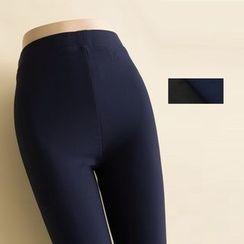 MITU - Fleece-Lined Skinny Pants