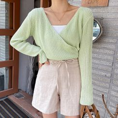 Miamasvin - Washed Straight-Cut Jeans