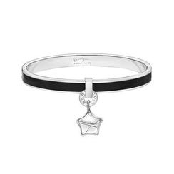 Kenny & co. - Share of Love Lucky Star Black Enamel Bangle