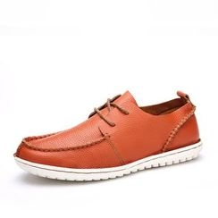 EnllerviiD - Genuine-Leather Deck Shoes