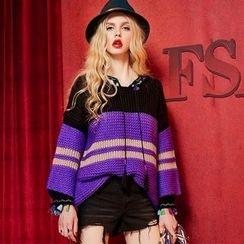 ELF SACK - Striped Sweater