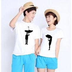 Love Affairs - Boy / Girl Print Couple T-Shirt