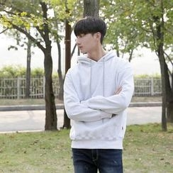 Seoul Homme - Brushed-Fleece Lined Hooded Pullover