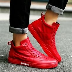 HANO - Fleece-lined High-top Sneakers