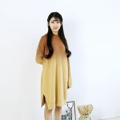 Ranche - Gradient Sweater Dress