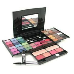 Cameleon - MakeUp Kit G2327 (2x Powder, 36x Eyeshadows, 4x Blusher, 1xMascara, 1xEye Pencil, 8x Lip Gloss, 4x Applicators)