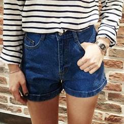 Dasim - 高腰牛仔短褲
