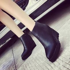 Hipsole - Wedge Ankle Boots