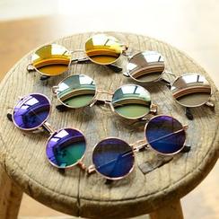 Reveries - Mirrored Round Sunglasses