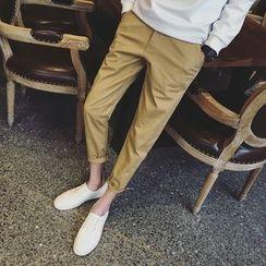 Edway - Plain Cropped Pants