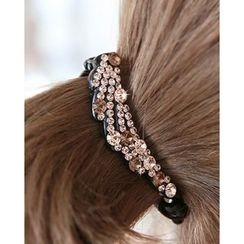 Miss21 Korea - Full-Rhinestone Hair Clamp