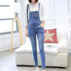 Ranee - Denim Jumper Pants