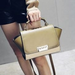 Nautilus Bags - Colour Block Satchel