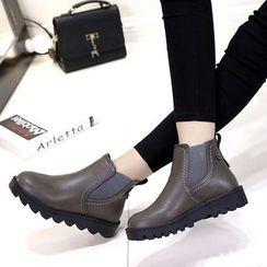 Kicko - Platform  Short Boots