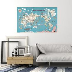 BABOSARANG - World Heritage Map (L)