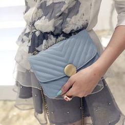 Secret Garden - Stitched Crossbody Bag