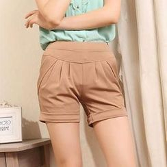 Cotton Dream - High Waist Shorts