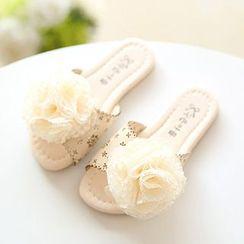 Luco - Kids Corsage Slide Sandals