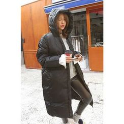 PPGIRL - Hooded Long Padded Coat
