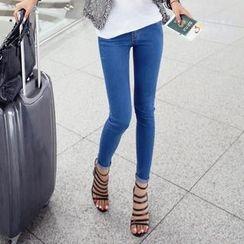 REDOPIN - Cotton Blend Skinny Jeans