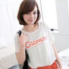 CatWorld - Printed Chiffon Top