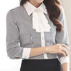 Caroe - Striped Chiffon Shirt