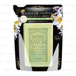 Kracie - Pure Savon Body Wash (Classic Floral) (Refill)