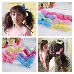 Aurabe - Kids Ear-Accent Hair Clamp / Hair Tie