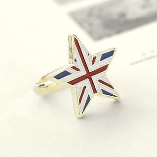 Cuteberry - Union Jack Star Ring