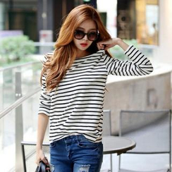 Koo - Striped Long-Sleeve T-Shirt