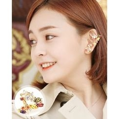 Miss21 Korea - Rhinestone-Accent Ear Cuff (Single)