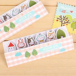 Set of 6: Assorted Mini Sticky Notes