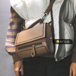 DAMENTO - Stitch Trim Shoulder Bag