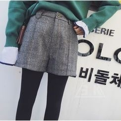 EKOOL - Check Shorts
