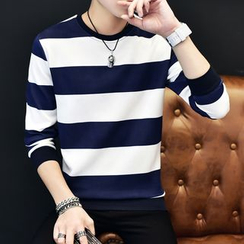 Gurun Vani - Striped Long Sleeve T-Shirt