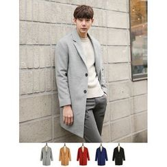 STYLEMAN - Wool-Blend Colored Coat