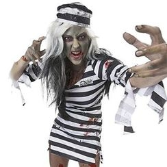 Cosgirl - Prisoner Party Costume Set