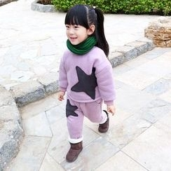 CUBS - Kids Set: Star Pullover + Pants