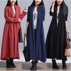 Diosa - Plain Long Jacket