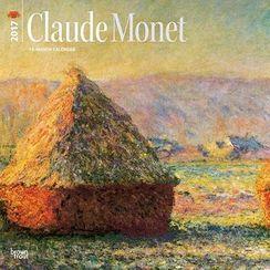 BABOSARANG - 2017 'CLAUDE MONET' Wall Calendar (L)