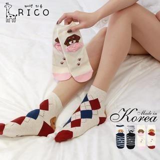 rico - Puppy-Print Socks