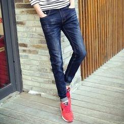 百高 - 修身牛仔褲
