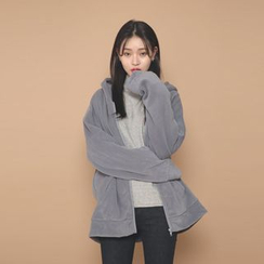 Envy Look - Oversized Polar-Fleece Hoodie